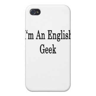 I'm An English Geek iPhone 4 Covers