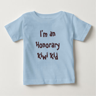 I'm an Honorary Kiwi Kid T-shirts