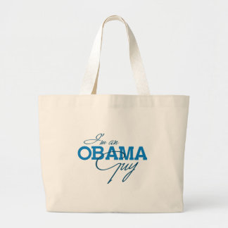 I'M AN OBAMA GUY -.png Tote Bags