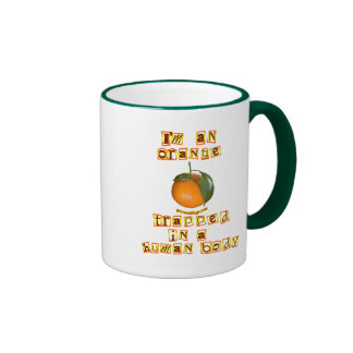 I'm an Orange Coffee Mugs