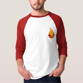 I'm Angry! Men's red Raglan T-shirt