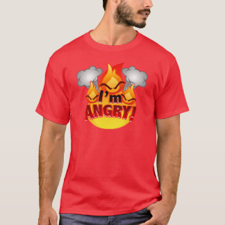 I'm Angry! Men's red T-shirt