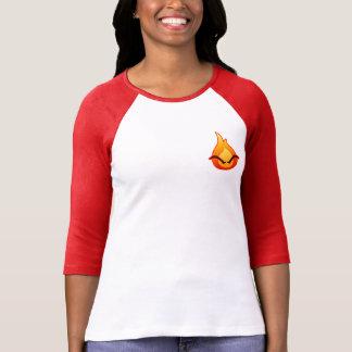 I'm Angry! Women's red Raglan T-shirt