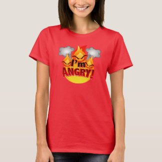 I'm Angry! Women's red T-shirt