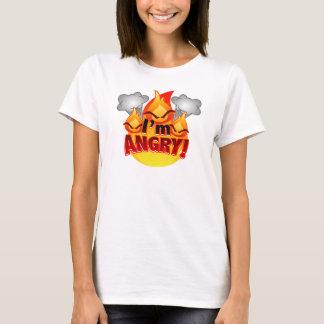 I'm Angry! Women's white T-shirt