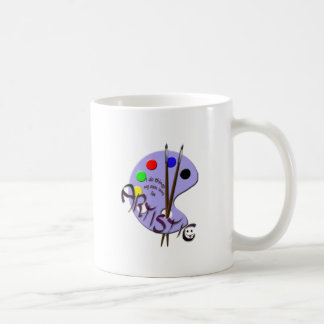 I'm artistic coffee mug