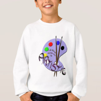I'm artistic sweatshirt