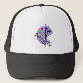 I'm artistic trucker hat