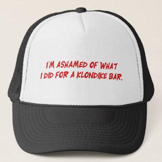 I'm Ashamed of What I Did For A Klondike Bar Hat