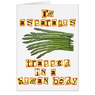 I'm Asparagus Cards