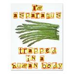 I'm Asparagus Custom Invitations