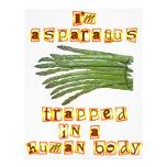 I'm Asparagus Full Color Flyer