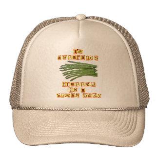 I'm Asparagus Mesh Hats