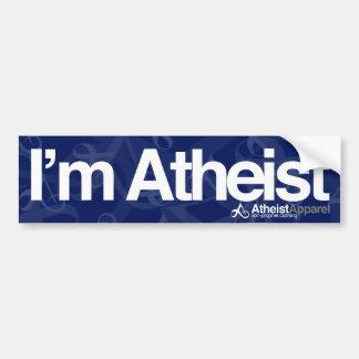 I'm Atheist Bumper Sticker