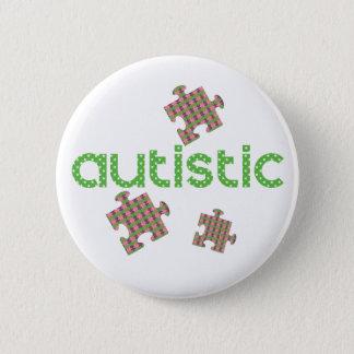 I'm Autistic Awareness 6 Cm Round Badge