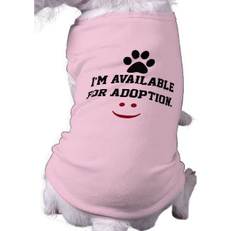 I'm available for adoption shirt
