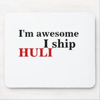 I'm awesome, I ship, HULI Mouse Pad