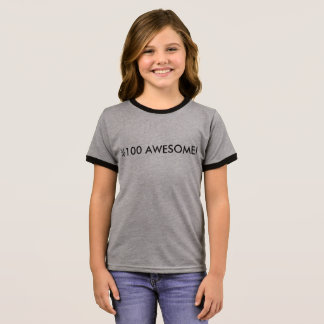 I'M AWESOME! RINGER T-Shirt