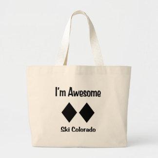 I'm Awesome Ski Colorado Tote Bags