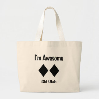 I'm Awesome Ski Utah Tote Bag