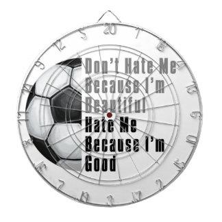 Im Beautiful Im Good Soccer Ball Dartboard