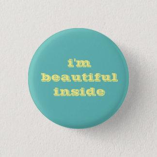 i'm beautiful inside button