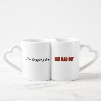 I'm Begging For... Her Bad Boy Coffee Mug Set