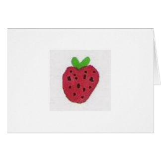I'm berry sorry. card