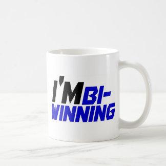 I'm Bi- Winning Basic White Mug
