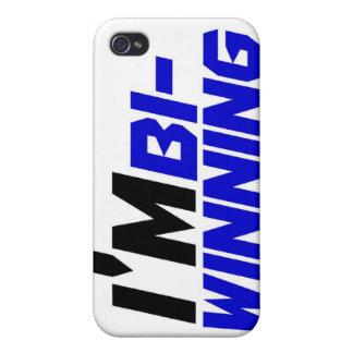 I'm Bi- Winning iPhone 4 Cases