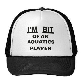 I'm Bit of an Aquatics player Cap
