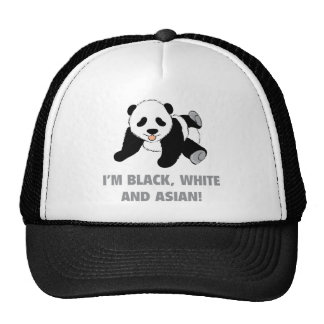 I'm Black, White And Asian! Cap