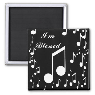 I'm Blessed_Magnet_by Elenne Boothe Square Magnet