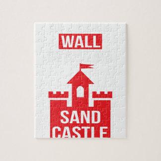 I'm Building A Sand Castle - 2016 Election Jigsaw Puzzle
