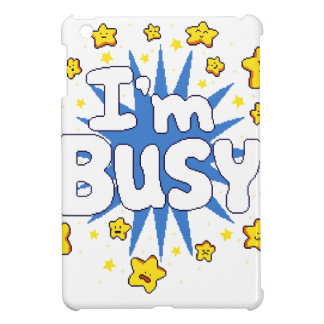I'm Busy iPad Mini Cases