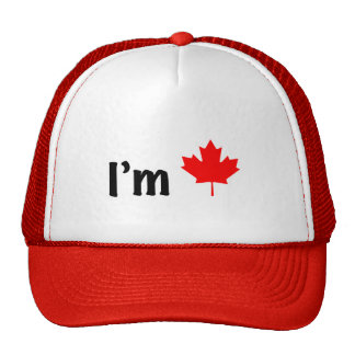 I'm Canadian Hat