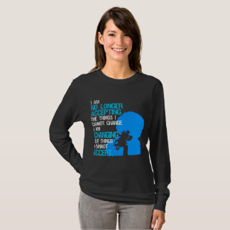 I'm Changing Things Basic Dark Long Sleeve T-Shirt