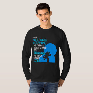 I'm Changing Things Men's Dark Long Sleeve T-Shirt