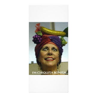 I'M CHIQUITA BONITA CUSTOM RACK CARD