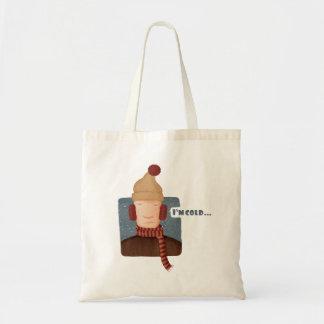 I'm cold... tote bag