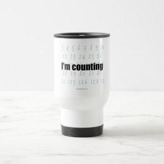 """I'm Counting"" Travel Mug"
