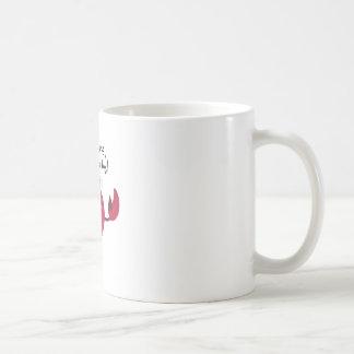 Im Crabby Basic White Mug