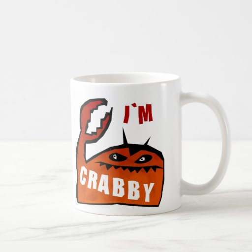 I'm Crabby -- mug