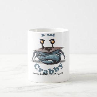"""I'm Crabby"" Reflex mug"