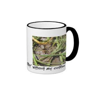 I'm Crabby Ringer Mug