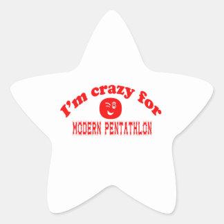 I'm crazy for Modern Pentathlon. Stickers