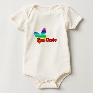 I'm cute... baby bodysuit