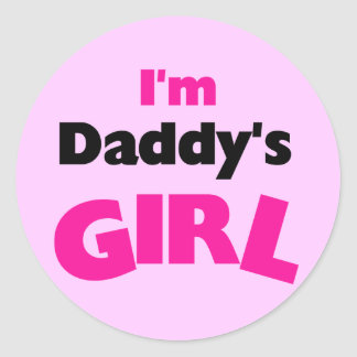 I'm Daddy's Girl Tshirts and Gifts Sticker