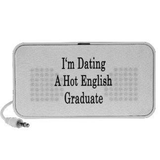 I'm Dating A Hot English Graduate iPod Speaker