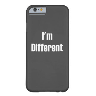 I'm different iPhone case